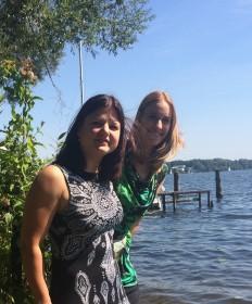 Harparlando auf Tour 2015 am Wannsee