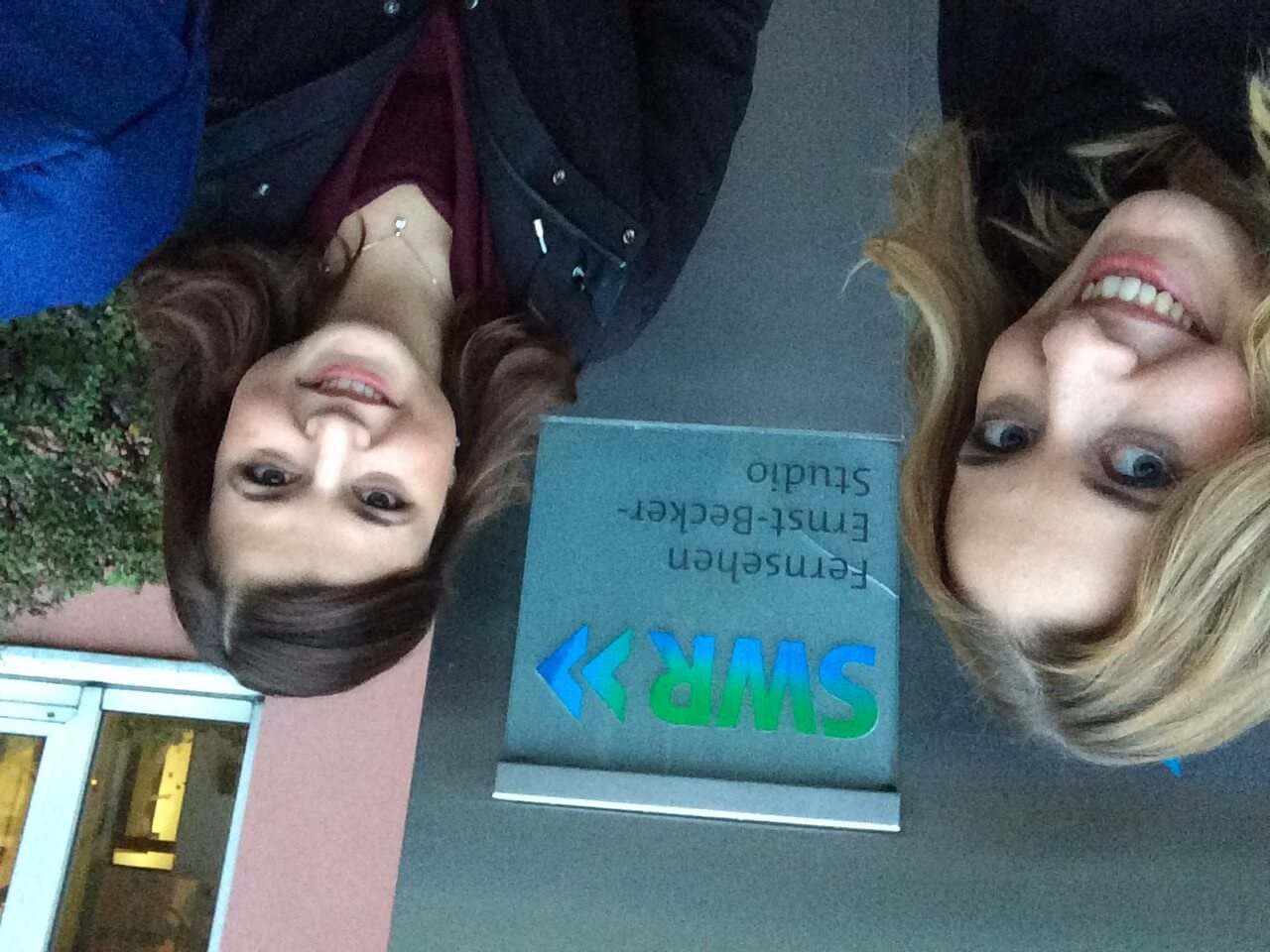 Johanna und Karin beim SWR