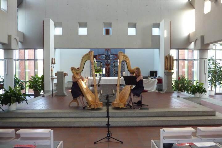 Harparlando Konzert in Bammental
